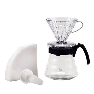 Hario V60 02 Craft Coffee Maker Dripper Seti